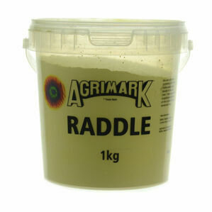 Agrimark Sheep Colouring Powder - Raddle - Black