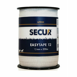 Agrifence Easytape Polytape (H4753) - White - 12mm x 200m