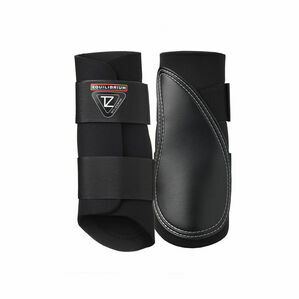Equilibrium Tri-Zone Brushing Boot - Black