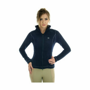 HyFASHION Elizabeth Full Zip Fleece - Navy/Silver