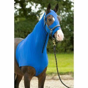 LeMieux Lycra Hood - Benetton Blue