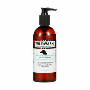WildWash Pro Anti Flea Shampoo - 300ml