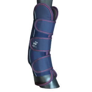 HyIMPACT Event Pro Series Travel Boots - Navy/Burgundy