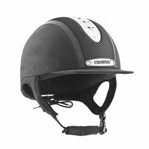 Champion Evolution Puissance Riding Hat - Black