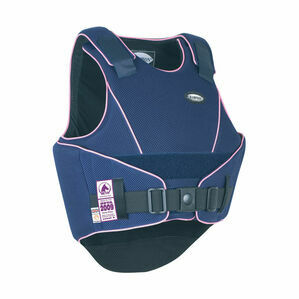 Champion Flexair Body Protector - Navy/Sugar Pink