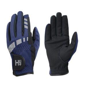 Hy5 Extreme Reflective Softshell Gloves - Navy