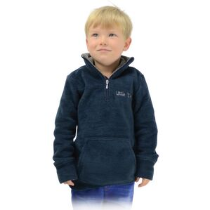 Nina Soft Fleece by Little Rider - Navy/Charcoal Grey