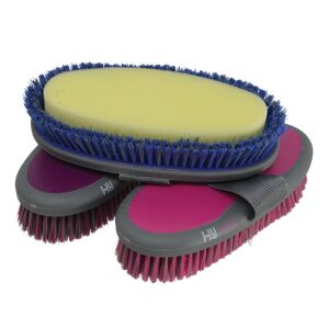 MVF HySHINE Active Groom Sponge Brush - 20 x 9.5cm