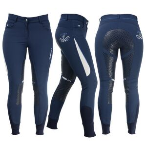 HyFASHION Sport Dynamic Ladies Breeches - Navy/Petrol Blue