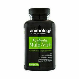 Animology Prebiotic Multivit+ Supplement - 60 Capsules