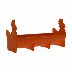 Hentastic Trough Feeder - Orange