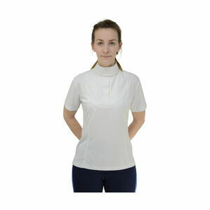 HyFASHION Ladies Downham Short Sleeved Stock Shirt - White