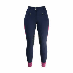 Hy Sport Active Ladies Breeches - Navy/Port Royal