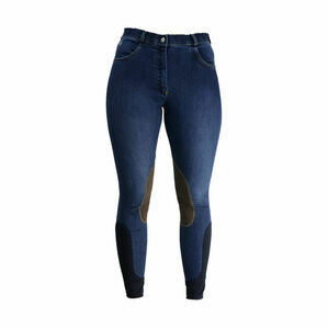 HyPERFORMANCE Lucinda Denim Breeches - Navy Denim