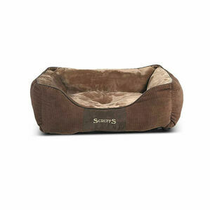 Scruffs Chester Box Bed - Chocolate