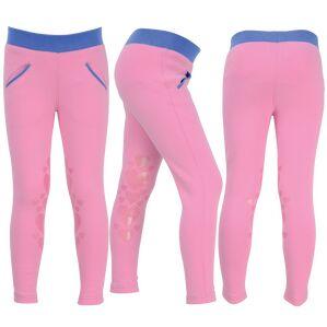 Little Rider Glitter Leggings - Cameo Pink/Regatta Blue