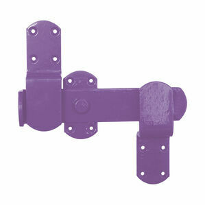 Perry Equestrian Kickover Stable Latches - Purple