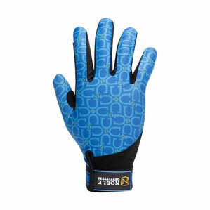 Noble Outfitters Perfect Fit Glove - Tahoe Blue Horsehoe Print