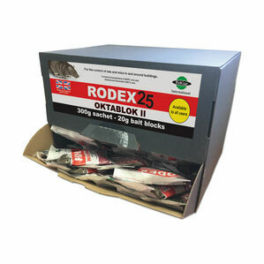 Rodex 25 Oktablok II - Sachet - 40 x 300g