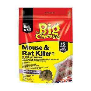 STV Mouse and Rat Killer2 (STV223) - Pasta Bait - 15 Pack