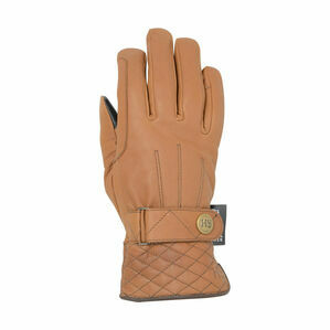 Hy5 Thinsulate™ Quilted Soft Leather Winter Riding Gloves - Tan