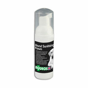 Aqueos Anti-Bacterial Canine Hand Sanitising Foam - 50ml