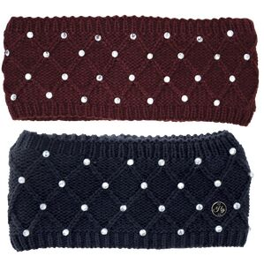 HyFASHION Munich Diamante Headband - One Size