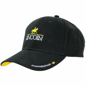 Lincoln Baseball Cap - Black/Yellow - One Size
