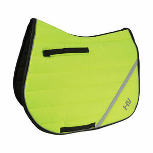 Reflector Comfort Pad by Hy Equestrian - Yellow
