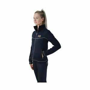 HyFASHION Kensington Ladies Jacket - Navy/Taupe/ Rose Gold
