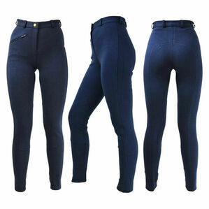 HyPERFORMANCE Epworth Ladies Jodhpurs - Navy