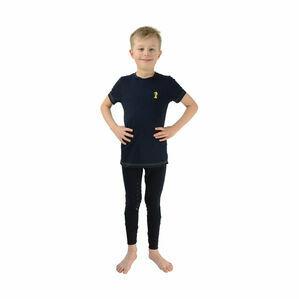 Lancelot T-Shirt by Little Knight - Navy/Yellow