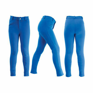 HyPERFORMANCE Winterton Children's Jodhpurs - Royal Blue