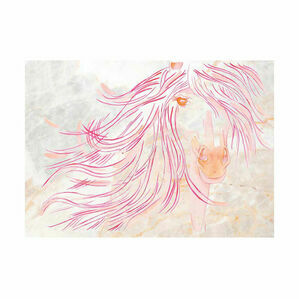 Deckled Edge A4 Watercolour Art Prints - Sunset Mare