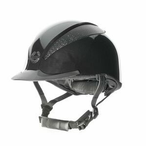 Champion Air-Tech Deluxe Riding Hat Dial Fit - Metallic Black - Small