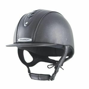 Champion Evolution Diamond Riding Hat - Black