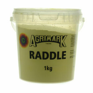 Agrimark Sheep Colouring Powder - Raddle - Yellow