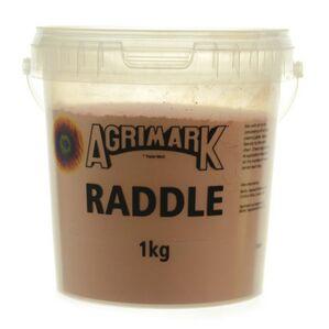 Agrimark Sheep Colouring Powder - Raddle - Orange