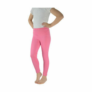 HyPERFORMANCE Georgia Silicone Knee Children\'s Riding Tights - Pink
