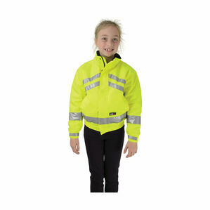 HyVIZ Reflective Waterproof Children\'s Blouson - Yellow