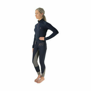 HyFASHION Kensington Base Layer - Navy/Rose Gold
