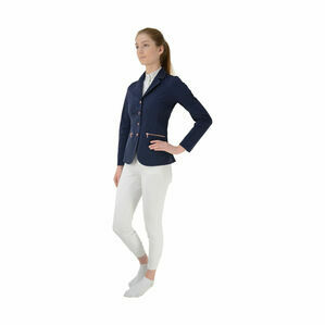 HyFASHION Rosalind Rose Gold Competition Jacket - Navy/Rose Gold