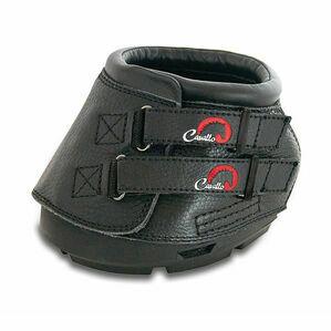 Cavallo Simple Boot With FOC Hoof Pick & Brush - Black
