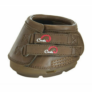Cavallo Simple Boot With FOC Hoof Pick & Brush - Brown