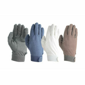 Hy5 Cotton Pimple Palm Gloves - Brown
