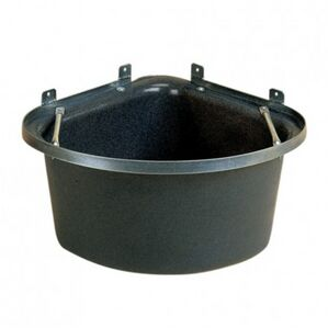 STUBBS Plastic Corner Manger (S4P) - Grey