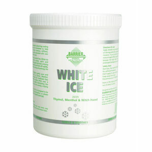 Barrier White Ice Cooling Gel For Horses- 1 litre