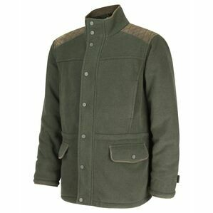 Hoggs Sportsman II Waterproof Fleece Shooting Jacket - Green