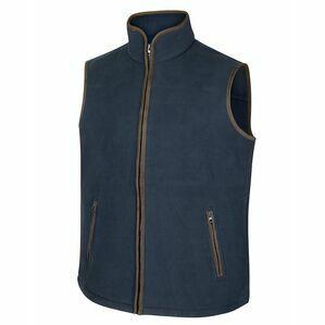 Hoggs Woodhall Fleece Gilet - Navy