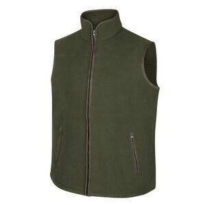 Hoggs Woodhall Fleece Gilet - Green